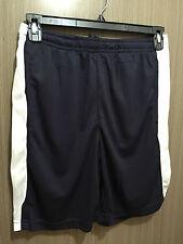 Mens Small/ladies 14 LW Reid Navy/white Elastic Waist Mesh Sports Shorts