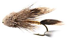 Muddler Minnow Streamer Flies - 1 Doz - Mustad Signature Hooks