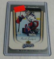R4895 - HENRIK LUNDQVIST - 2005/06 UD MVP - ROOKIE CARD - #418 - RANGERS -