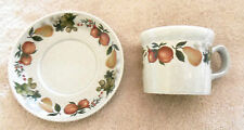 WEDGWOOD QUINCE CUP & SAUCER Set