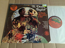 R. DEAN TAYLOR - I THINK, THEREFORE I AM - LP - RARE EARTH RS522 - USA 1970