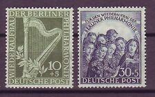 Postfrische Briefmarken aus Berlin (1950-1951) mit