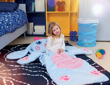 Snuggle Pets Bunny Sleeping Bag for 2 Years Old 160cm Length With Pockets