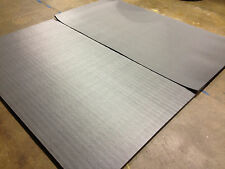 "10'x9'x1.25"" Dollamur Tatami Texture Mat -Gray NP (Tape/Cleaner Included)"