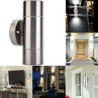 Outdoor Up and Down Wall Light - Stainless Steel Exterior Wall Light Sconce Lamp