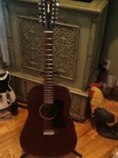 USA GUILD D15-12M Mahogony 12 String Acoustic Guitar