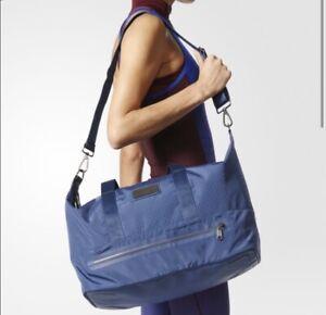 Stella McCartney Adidas Gym Duffle Bag Navy Blue Travel Bag