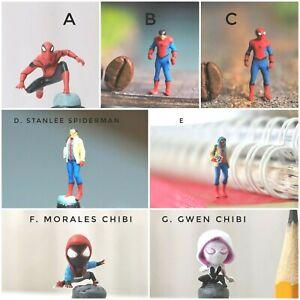 Miniature Figure Spiderman (pick one) H0 Scale 1/87 or 1/64 no Preiser
