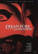 Phantom of the Paradise (DVD, 2001) WORLD SHIP AVAIL