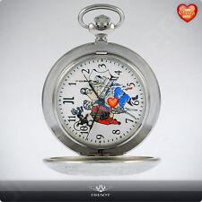 MOLNIJA JL Taschenuhr 3602 Russian mechanical erotic pocket watch Brunette