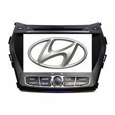 Plug & Play In Dash GPS Navigation DVD Player Radio for Hyundai Santa Fe 13-16