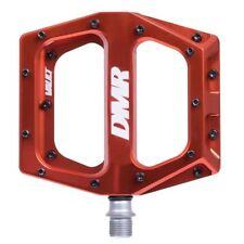 DMR Vault Flat wide Mountain MTB bike Flattie Freeride pedals - Deep Red