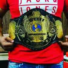 WWF Classic Gold Winged Eagle Championship Belt Adult Size.2mm