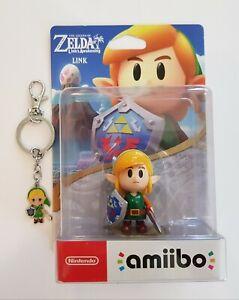 Amiibo Legend of Zelda Link's Awakening Link  MINT BNIB + key chain ring bag tag