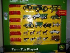ERTL JOHN DEERE FARM TOY PLAYSET 70 PIECES 1/64 SCALE