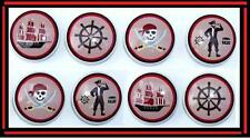 8 Pirate Ship Treasure Cove Mtm Beddining Dresser Drawer Knobs Made As Ordered