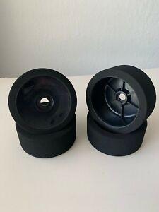 1/8 Buggy FOAM Tires Glued 17mm (BKD)