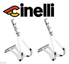 Pedales calapiés de acero para bicicletas
