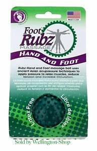 Due North Foot Rubz Foot Hand and Back Massage Ball, Relief Plantar Fasciitus.