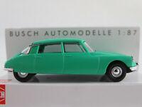"Busch 48002 Citroën DS 19 Limousine ""Frankreich"" (1955) in grün 1:87/H0 NEU/OVP"