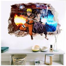 Naruto Anime Manga 3D Wandtattoo Wandaufkleber Wandsticker 70X50CM PVC Neu
