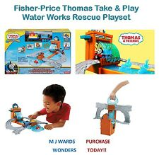 Fisher-price Thomas Take & Play Conjunto de Juego Rescate obras de agua