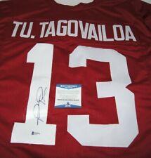 Tua Tagovailoa Alabama Crimson Tide Signed Autographed Custom Jersey BAS Beckett