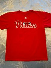 Philadelphia Phillies Roy Halladay  32  T Shirt Youth Large Kids Boys PHILA MLB