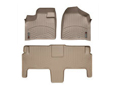 WeatherTech FloorLiner for Chrysler T&C/ VW Routan w/ Luxury Bucket Seats - Tan