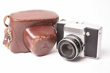 Pentina M reflex camera by Pentagon with Tessar f/2.8 - 50mm lens and case.
