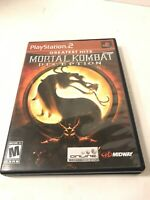 Mortal Kombat: Deadly Alliance.  Ps2.  No Manual. Tested. Greatest hits.