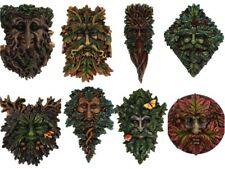 Various Green man wall plaque to choose from Garden Festive FREE POSTAGE