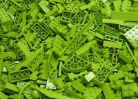 100+ LIME GREEN LEGO PIECES FROM HUGE BULK LOT PARTS @ RANDOM NO MINIFIGURES