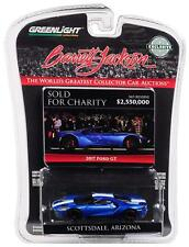 Greenlight 1/64 Barrett Jackson 2017 Ford GT Liquid Blue IGNITE Charity 29964