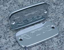 2002-2008 Honda VTX1800 VTX 1800 CHROME MASTER CYLINDER CAPS