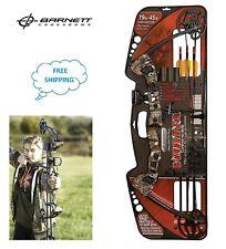 "Barnett 1105 Vortex Youth Archery Bow ( Camo ) , 21-27"" draw length , 19-45 lbs"