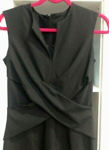 Black Karen Walker Dress Size 10