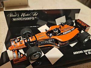 MINICHAMPS ARROWS SUPERTEC A21 PEDRO DE LA ROSA #18 F1 IN 2000 1/43 F1