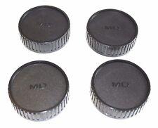 4X  MINOLTA MD Objektiv Rückdeckel  Kappe  Deckel  Minolta MD  Rear Lens Cap