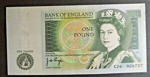One Pound Note £1