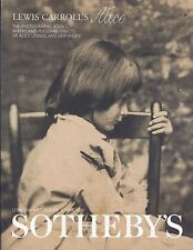 SOTHEBY'S LEWIS CARROLL ALICE Lindell Collection Auction Catalog 2001 + RESULTS