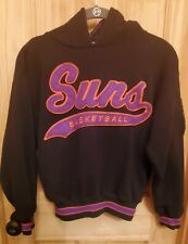 Vintage Small Starter Phoenix Suns Hoodie Sweatshirt Basketball NBA Arizona 90s