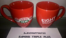 New listing Friends Central Perk 13 Oz Mugs (Set Of 2) Eight O'Clock (New Unused)
