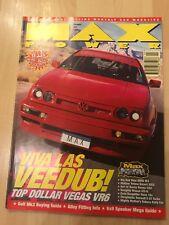 Max Power Magazine February 1997. ABT VR6 Golf. Nissan GTi-R. BMW M3.