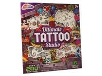 Ultimate Tattoo Studio 200 Piece Art Craft Kids Activity Set Temporary 0550/18
