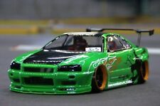 PANDORA 1/10 RC NISSAN SKYLINE GTR R34 195mm Clear Body Drift Hashiriya