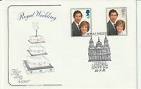22 JULY 1981 ROYAL WEDDING COTSWOLD FIRST DAY COVER St PAULS LONDON EC4 SHS