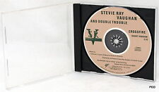 Stevie Ray Vaughan and Double Trouble Crossfire Short Version Single Promo CD