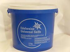 (EUR 2,60/kg) Edelweiss Universalseife, Neutralseife,pH-neutr Azett, 5kg.Eimer,