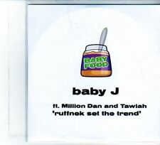 (DU695) Baby J, Ruffnek Set The Trend - 2008 DJ CD